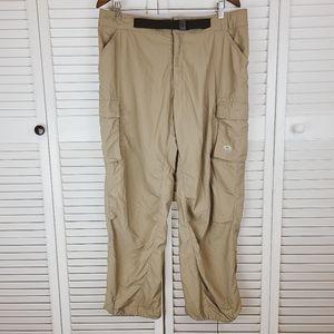 Mountain Hard Wear Tan Cargo Hiking Pants Size L